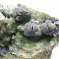 Sphalerite & Chalcedony