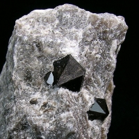 Black Quartz & Gypsum
