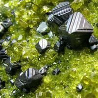 Magnetite & Epidote