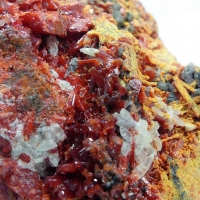 Getchellite Realgar With Orpiment