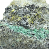 Kasolite & Malachite