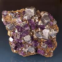 Fluorite Sphalerite Galena & Calcite