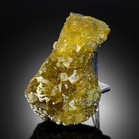 Fluorite With Calcite & Pyrite