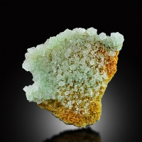 Gypsum Var Selenite With Halite