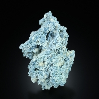Mordenite With Thomsonite On Chalcedony