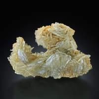 Baryte With Pyrite