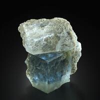Fluorite On Gypsum