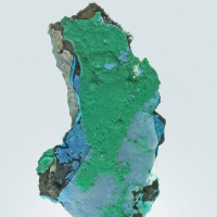 Shattuckite With Malachite