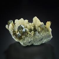 Smoky Quartz Dolomite & Pyrite