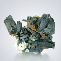 Tourmaline Var Schorl With Microcline