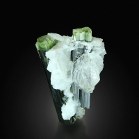 Tourmaline Elbaite With Quartz & Albite