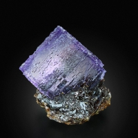 Fluorite With Sphalerite