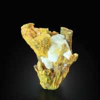 Orpiment With Calcite