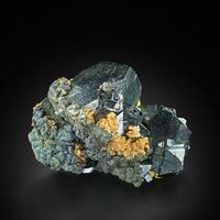 Sphalerite With Arsenopyrite Siderite Pyrite