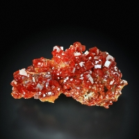 Vanadinite With Baryte