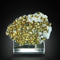Calcite With Chalcopyrite