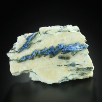 Fluorapatite With Mica On Feldspar