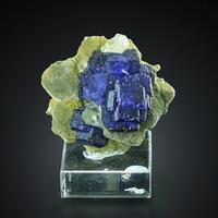 Fluorite With Quartz & Muscovite