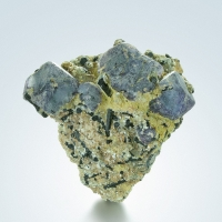 Fluorite With Schorl & Mica