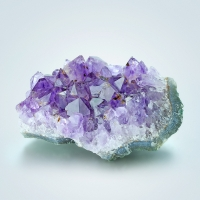 Amethyst With Rutile