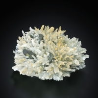 Rock Crystal With Chalcopyrite & Pyrite