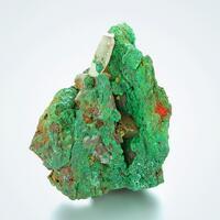 Malachite Psm Azurite With Calcite & Bayldonite