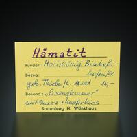 Hematite With Chalcopyrite & Quartz