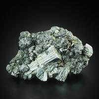 Cassiterite With Arsenopyrite Ferberite