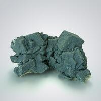 Malachite With Mottramite On Calcite