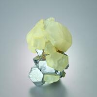 Calcite On Galena
