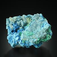 Shattuckite Psm Psm Malachite With Malachite Calcite Quartz