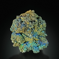 Cerussite With Azurite