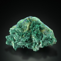 Malachite Psm Azurite With Azurite On Cuprite