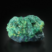 Covellite With Malachite Psm Azurite