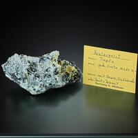 Boulangerite & Quartz Sphalerite Pyrite Dolomite