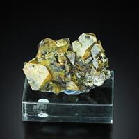 Scheelite With Chalcopyrite