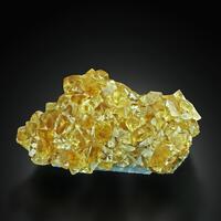 Fluorite With Manganoan Calcite
