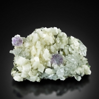 Fluorite With Calcite Pyrite & Dolomite