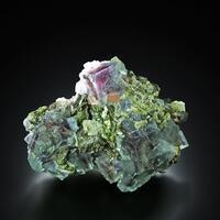 Fluorite With Arsenopyrite & Chalcopyrite