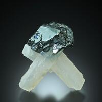 Manganoan Calcite With Galena & Sphalerite