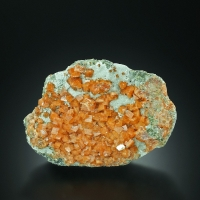 Chabazite With Epidote & Calcite