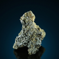Argentite With Native Silver & Arsenic
