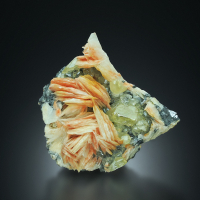 Baryte With Cerussite & Galena
