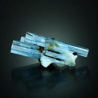 Beryl Var Aquamarine With Schorl Microcline