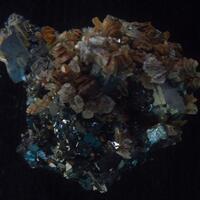 Galena Sphalerite Calcite & Quartz