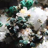 Arsenopyrite Chalcopyrite & Malachite