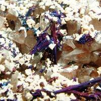 Chalcocite Baryte & Calcite