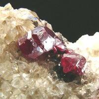 Cuprite & Calcite