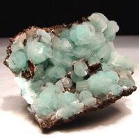 Hemimorphite & Calcite