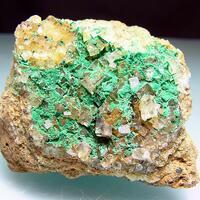 Malachite & Fluorite